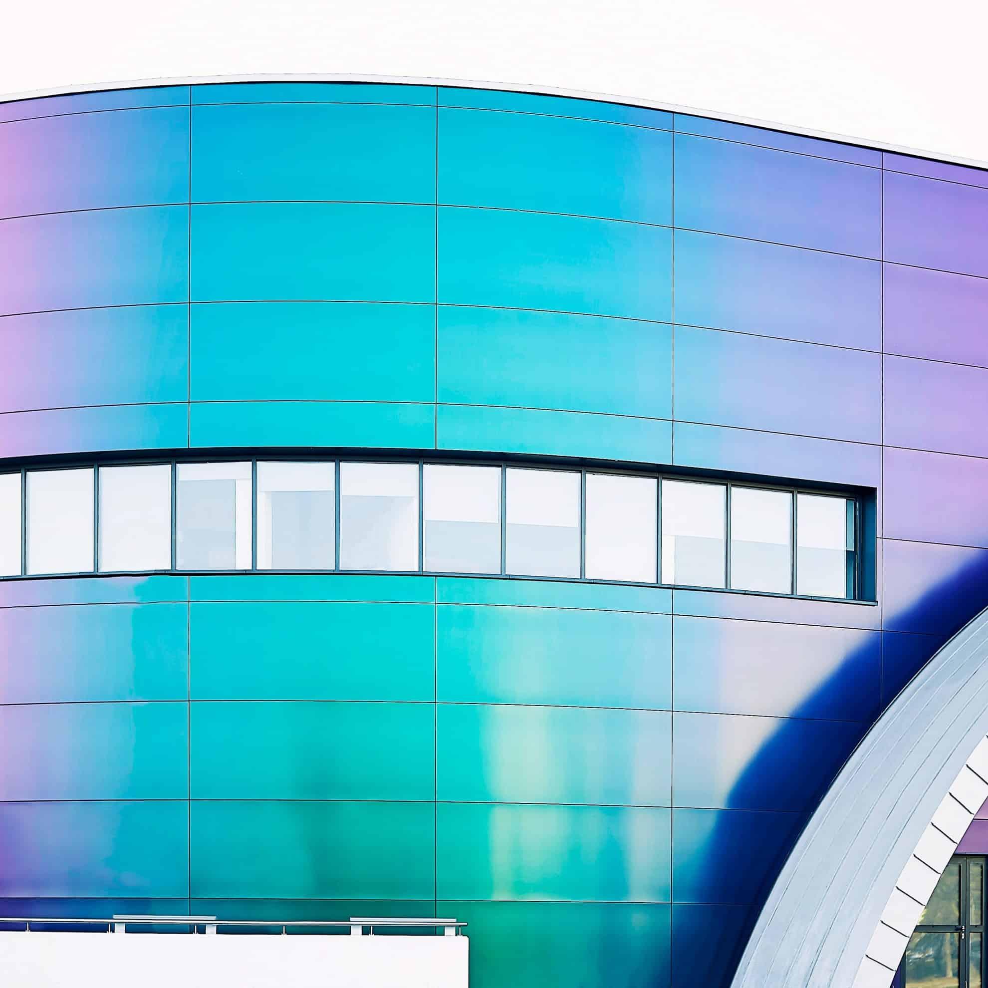 фасад из панелей Rockpanel