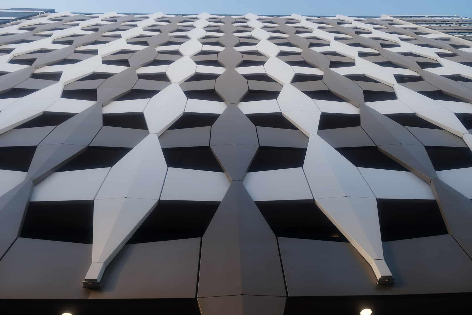 фасад из панелей